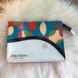 SHISEIDO Ginza Tokyo Cosmetic/Travel Bag